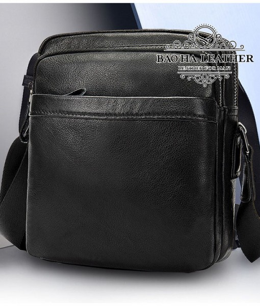 Túi đeo chéo nam mini da bò - BHM6027 (5)