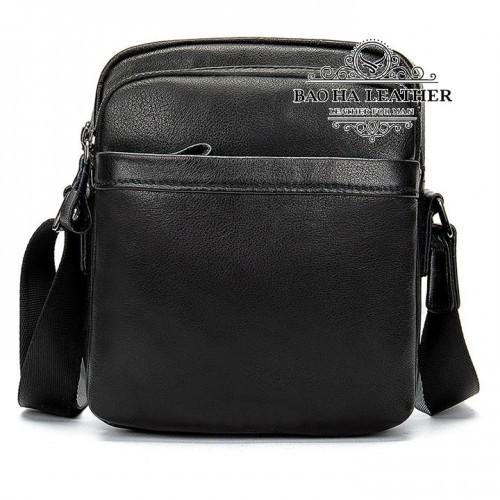 Túi đeo chéo nam mini da bò - BHM6027 - Nhỏ gọn, đơn giản