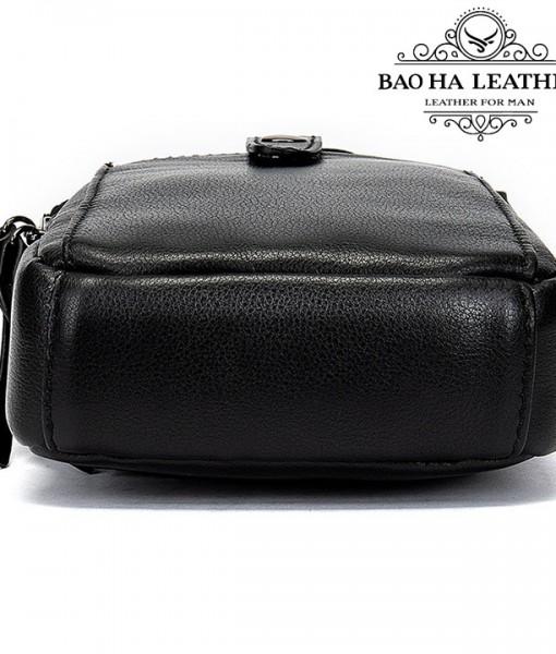 Túi da nam đeo hông da thật - BHM711 (7)