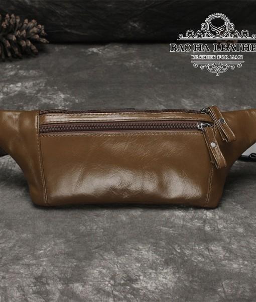 Túi nam đeo bụng da bò - BHL140N (10)