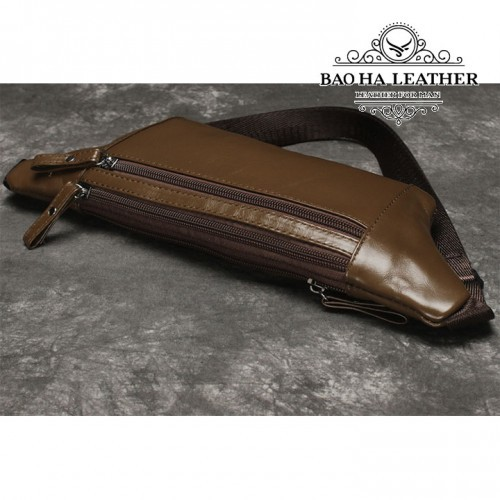 Túi nam đeo bụng da bò - BHL140N - Chuẩn Da bò 100% mà giá thì siêu tốt