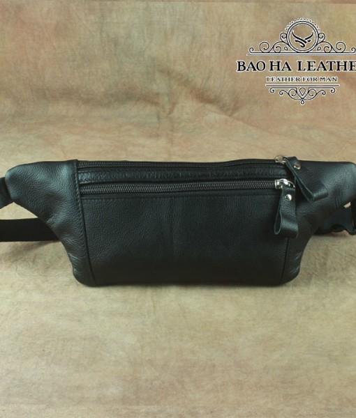Túi nam đeo bụng da bò - BHL140N (4)
