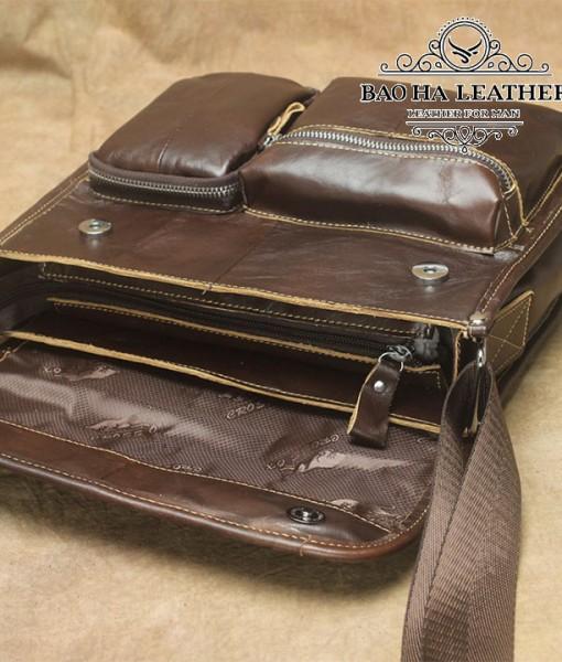 Thêm 2 ngăn khóa kéo nhỏ phía trước túi