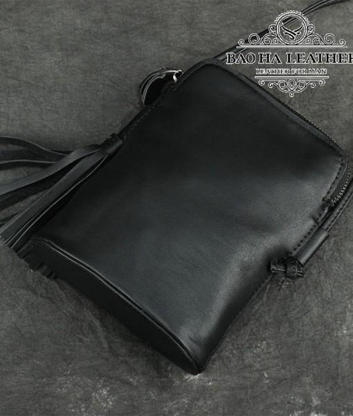 Túi nữ đeo chéo da bò mini - BHDJ006