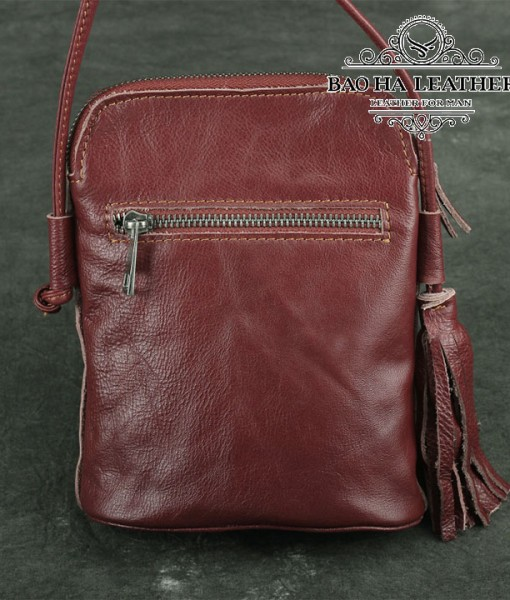 Túi nữ đeo chéo da bò mini - BHDJ006 (15)