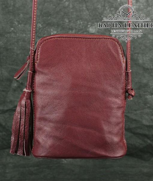 Túi nữ đeo chéo da bò mini - BHDJ006 (18)