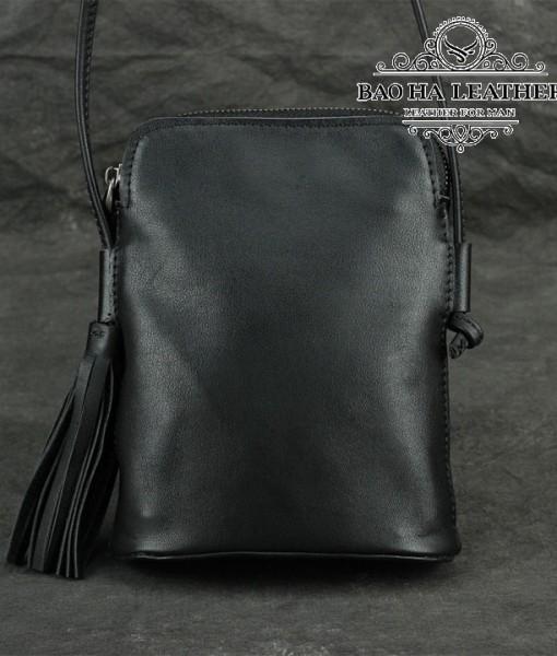 Túi nữ đeo chéo da bò mini - BHDJ006 (4)