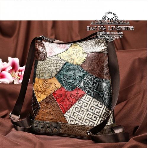 Túi xách nữ đa năng da bò cao cấp - BHW6386 Sang chảnh