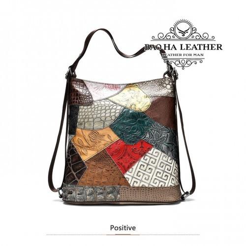 Túi xách nữ đa năng da bò cao cấp - BHW6386