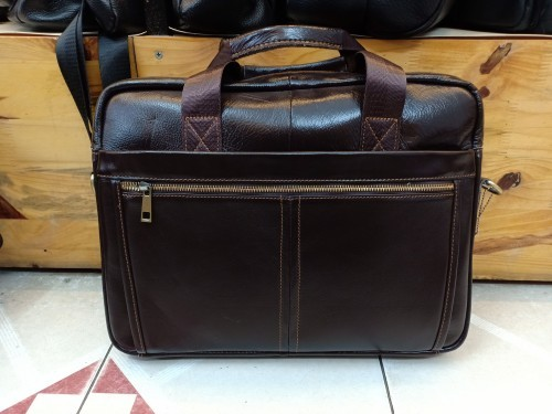 Cặp nam đựng laptop da bò – BHM8752 giá chỉ 649k