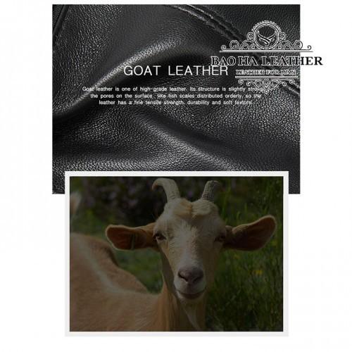 Chuẩn da cừu cao cấp, mang lại chất lượng tuyệt đỉnh