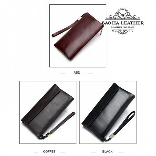 Ví cầm tay mở nắp - BHM8805 có đến 3 màu để bạn chọn lựa
