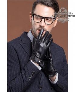 Bao da nam lót lông siêu ấm - BHY8791N