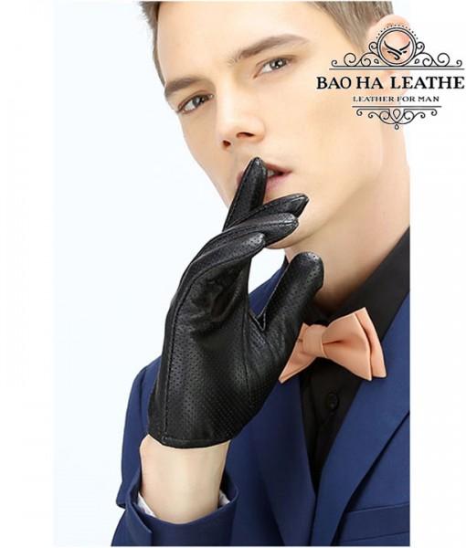 Găng tay da nam lót vải thoảng khí - BH6617 (14)