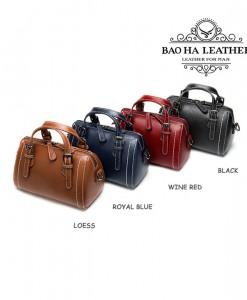 Túi đeo chéo nữ nhỏ da bò nguyên tấm - BHM9002 - với 4 màu sang chảnh dành cho phái nữ