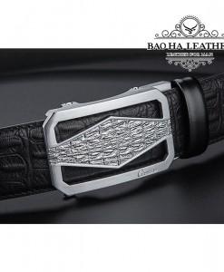 Thắt lưng da cao cấp Ciartuar - BH133D mặt bạc đẳng cấp họa tiết tinh tế.