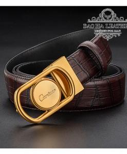 Thắt lưng khóa bấm nam cao cấp Ciartuar - BH1401V Sang trọng và Tự tin trong giao tiếp.