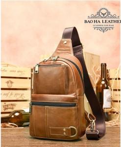Túi đeo ngực nam da bò MARRANT BHM8800 vừa ipad mini 7 (6)
