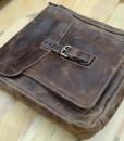 Túi da đeo vai nam - BHS06 Ảnh chụp thật