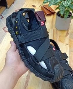 Giày sandals mùa hè nam BH9507 màu Đen