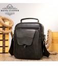 Túi da đeo chéo dáng hộp - BHM7329C màu Cà phê