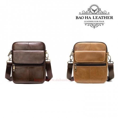 Túi đeo chéo nhỏ MARRANT - BHM7350 Nâu bò và Nâu cà phê