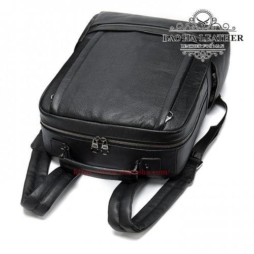 Balo da laptop 15inch cao cấp - BHM8723 phom dáng cứng cáp