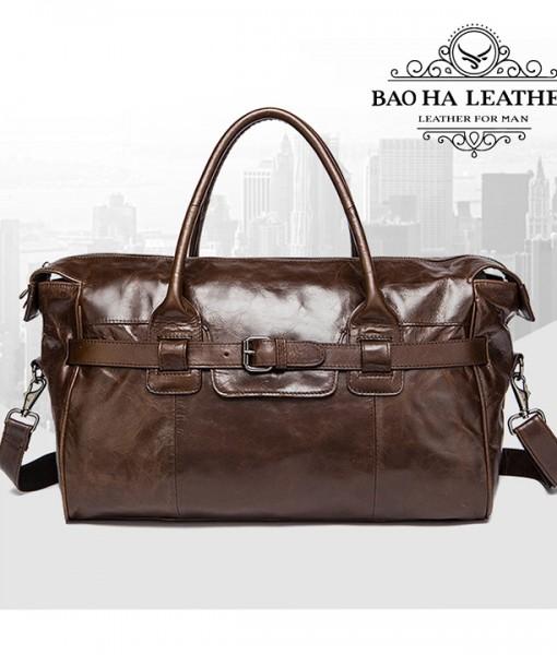 Túi xách du lịch da bò cao cấp BHM8822 (2)