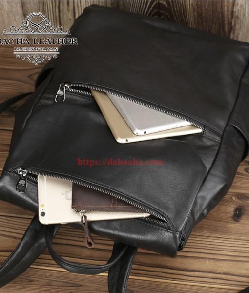 Thêm 2 ngăn khóa kéo trước túi