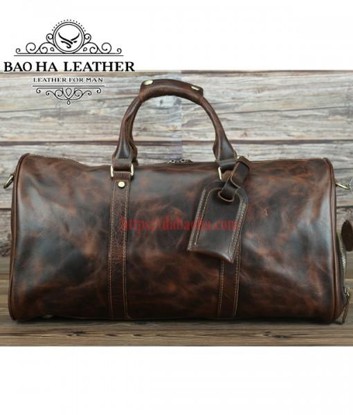 Túi trống du lịch cao cấp có ngăn để giày BHL218N (10)