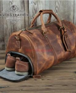 Túi trống có ngăn để giày riêng
