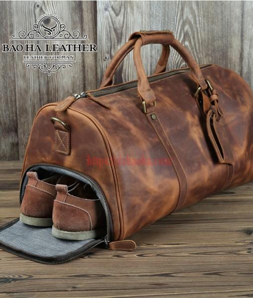 Túi trống du lịch cao cấp có ngăn để giày BHL218N (13)
