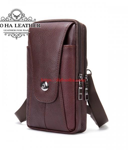 Túi da đeo hông - Túi đeo chéo nhỏ BHM7500 (5)