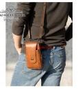 Túi da đeo hông - Túi đeo chéo nhỏ BHM7500 vừa là túi đeo chéo nhỏ