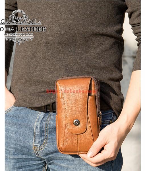 Túi da đeo hông - Túi đeo chéo nhỏ BHM7500 (9)