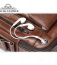 Túi đeo chéo Bao Ha Leather BHM7512C Màu Cà phê (2)