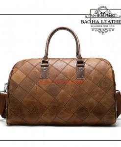 Túi trống du lịch - BHM8885 màu Nâu sáng