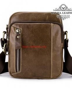 Túi da đeo chéo nam dáng nhỏ - BHM8358