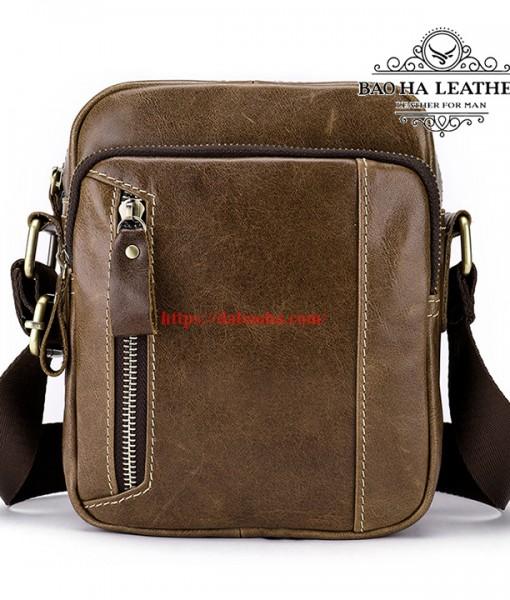 Túi da đeo chéo nam dáng nhỏ - BHM8358 (4)