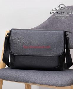 Túi đeo chéo nam ngang BHM8710 Da bò cao cấp