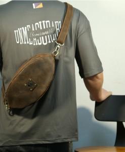 Túi da đeo ngực mẫu mới BHL032