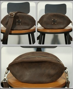 Túi được làm từ 100% da bò nguyên tấm